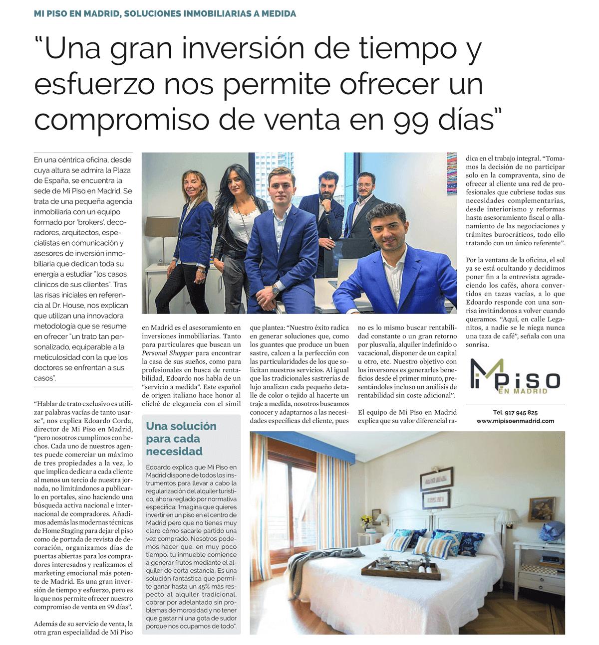 Agencia Inmobiliaria en Madrid