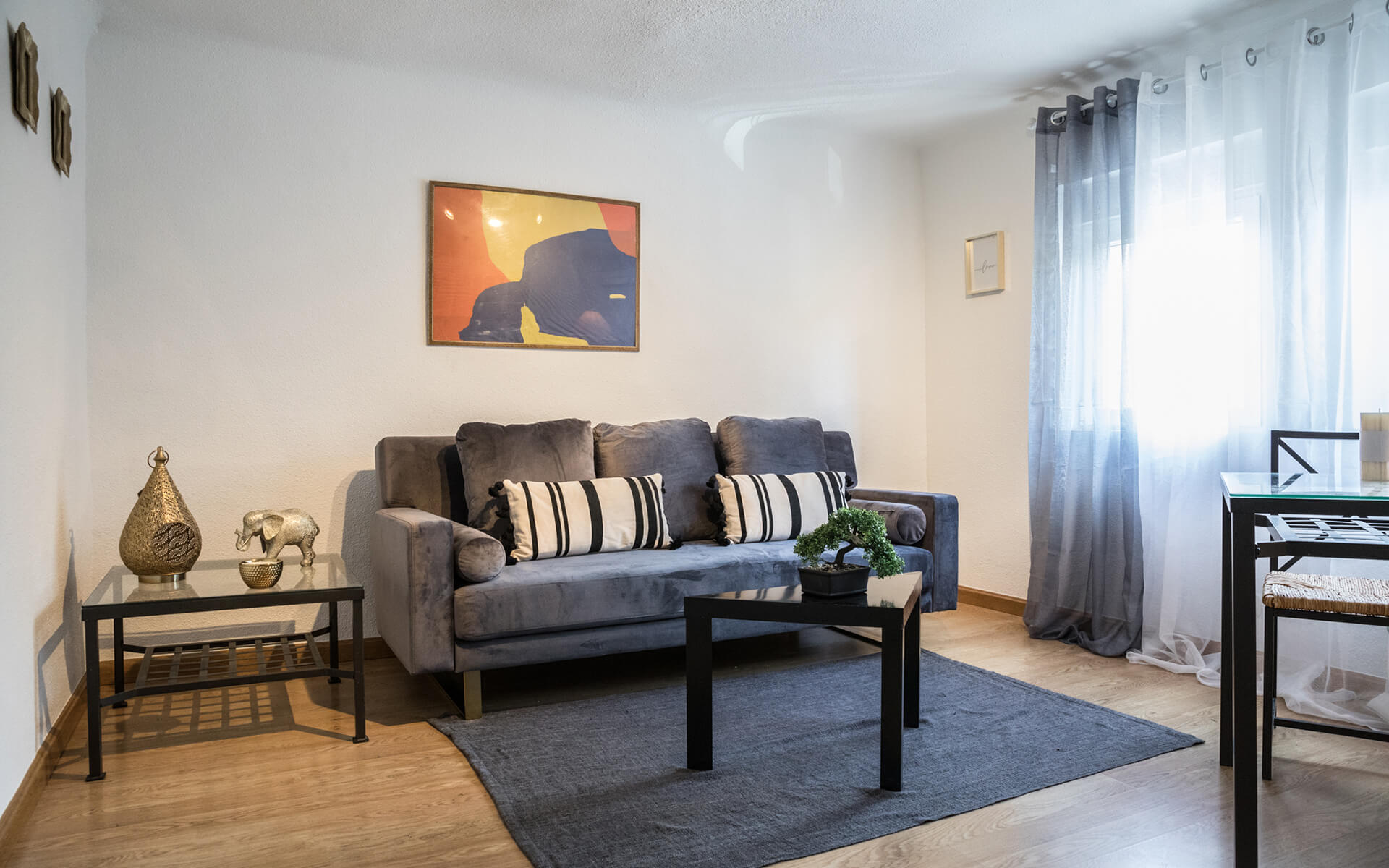 Coqueta vivienda equipada en Pueblo Nuevo