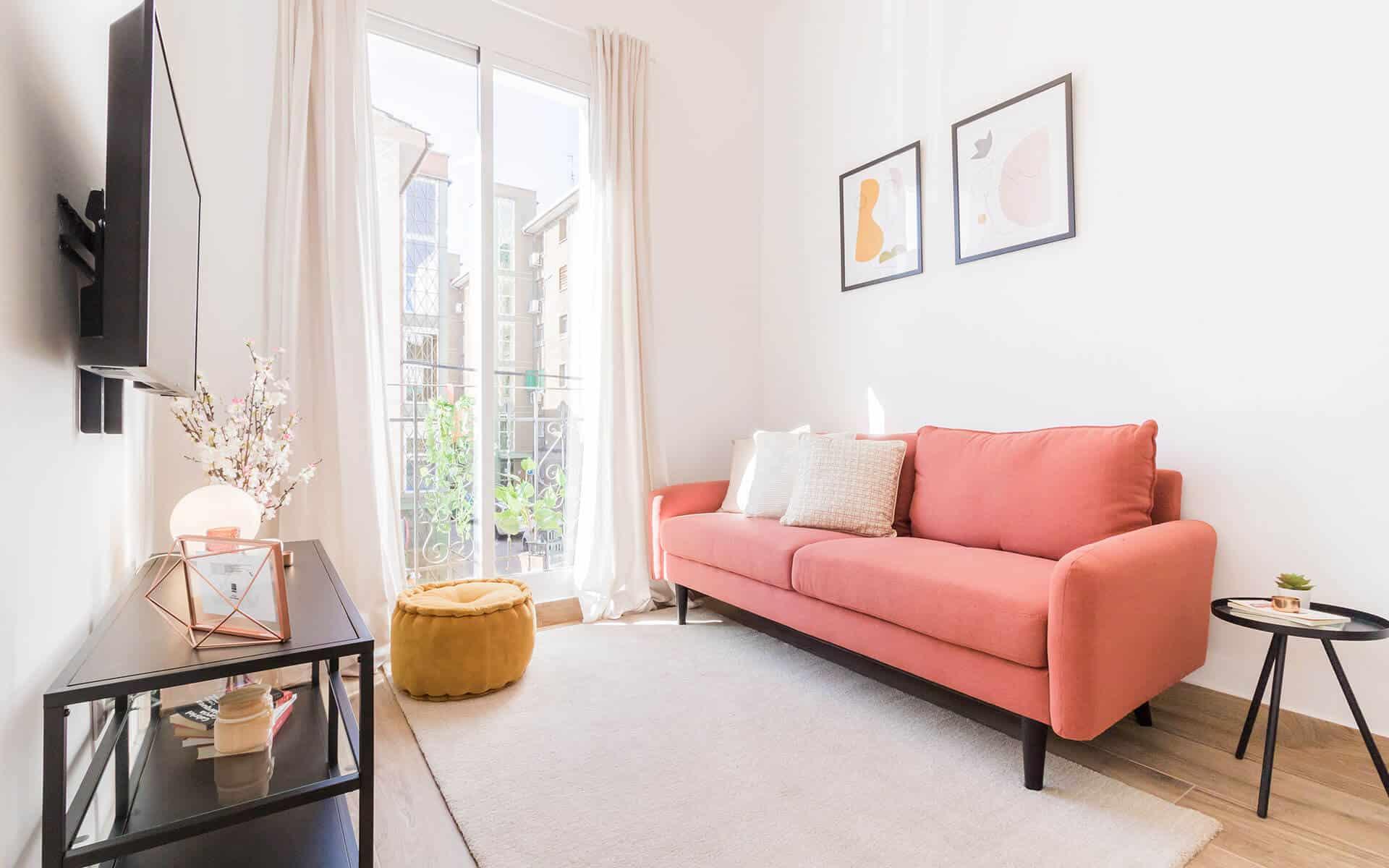 Coqueto piso de 2 dormitorios en Madrid Río